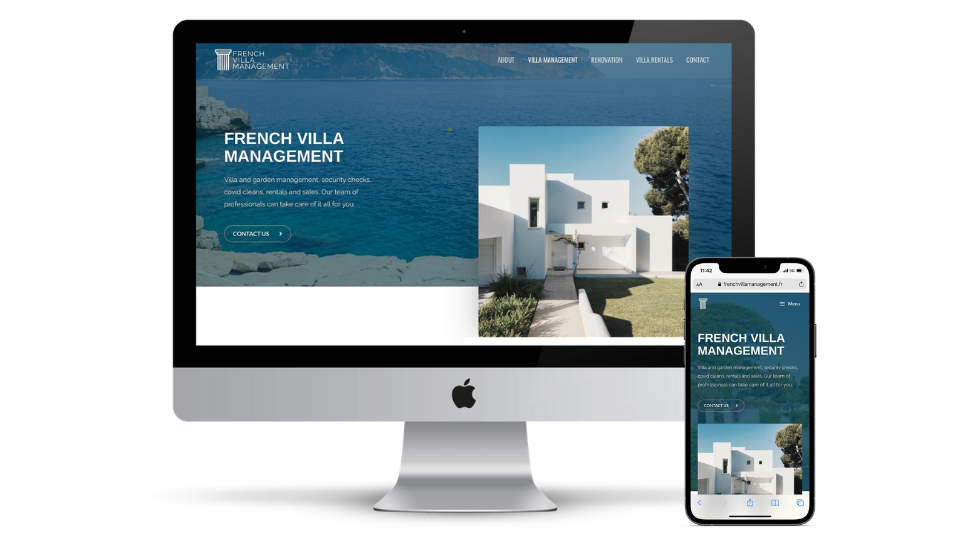 Fully Mobile responsive website