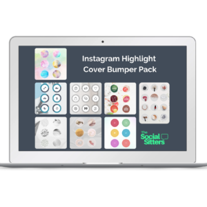 Instagram Story Highlight Cover Template, pre-made instagram highlight covers, editable highlight covers instagram